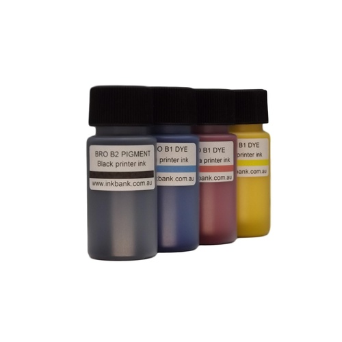 B2 BCMY ink set (4) for Brother printers